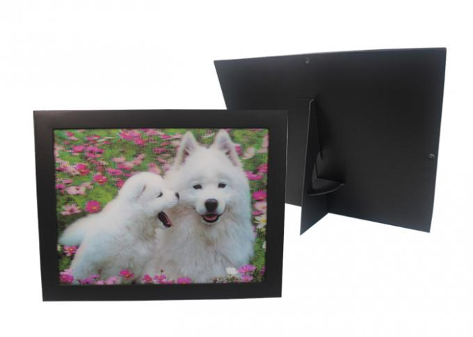 Paper Frame Stand 3d Lenticular Sheets Picture PET Custom Design
